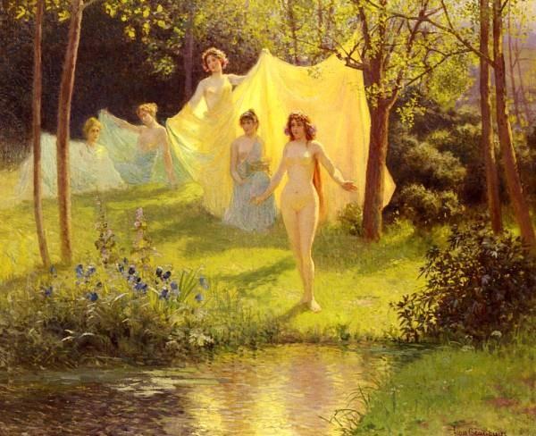 Vestales Au Bain